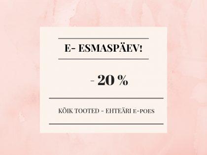 E-ESMASPÄEV